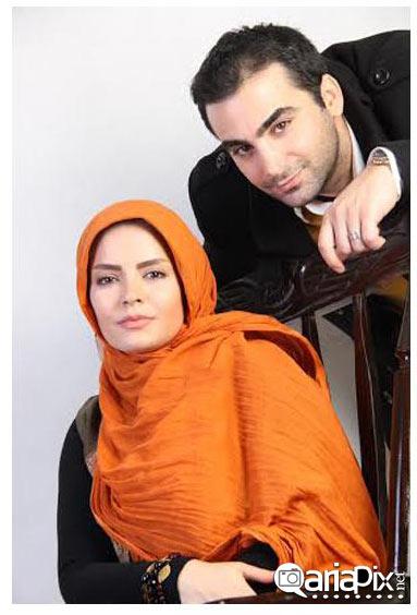 عکس از سپیده خداوردی و همسرش