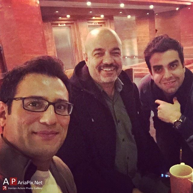 پشت صحنه خوشا شیراز با حضور بازیگران سعید آقاخانی