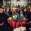 جمعی از بازیگران زن در مراسم تقدیر از کیمیا علیزاده (عکس)
