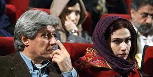 لادن مستوفی و همسرش