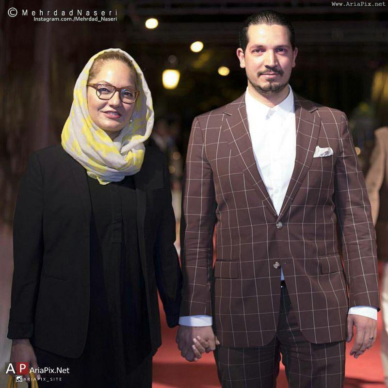 مهناز افشار و همسرش محمدیاسین رامین