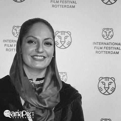 عکس های مهناز افشار در جشنواره فیلم روتردام هلند