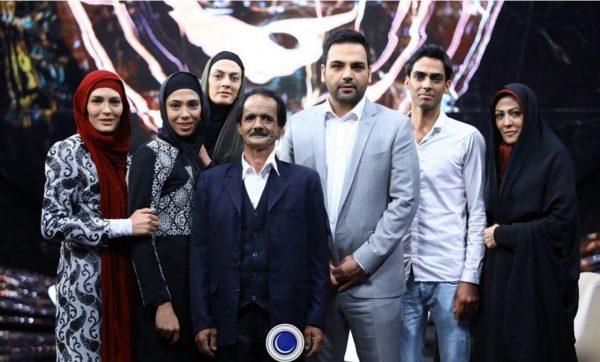 دیدار خواهران منصوریان با پدرشان در ماه عسل