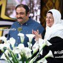 مهران غفوریان و مادرش در برنامه سه ستاره +دانلود ویدیو