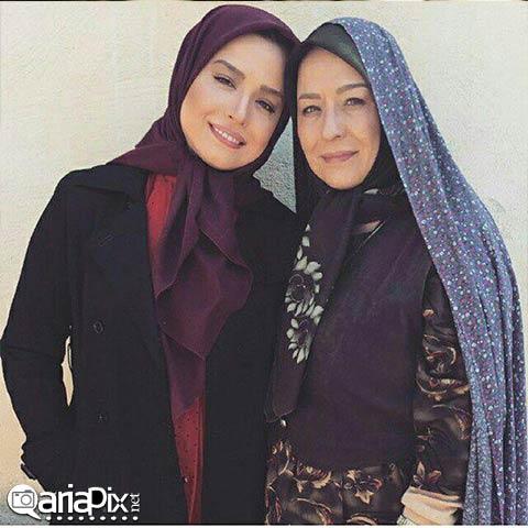 آزیتا حاجیان و دخترش مهراوه شریفی نیا