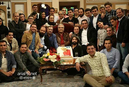 تولد 50 سالگی مهران مدیری در برنامه دورهمی +عکسها و دانلود برنامه