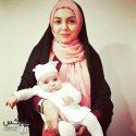 آزاده نامداری عکسی با دخترش گندم منتشر کرد + جدید