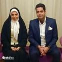آزاده نامداری و همسرش سجاد عبادی / عکس جدید