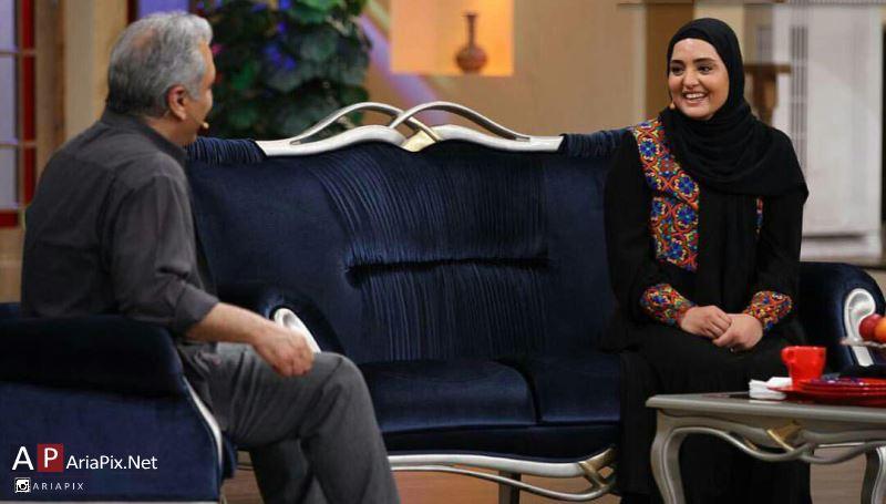 گفتگوی نرگس محمدی با مهران مدیری در دورهمی