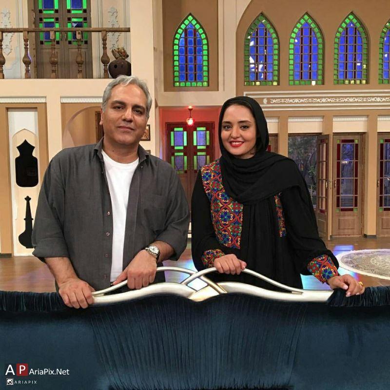 نرگس محمدی و مهران مدیری