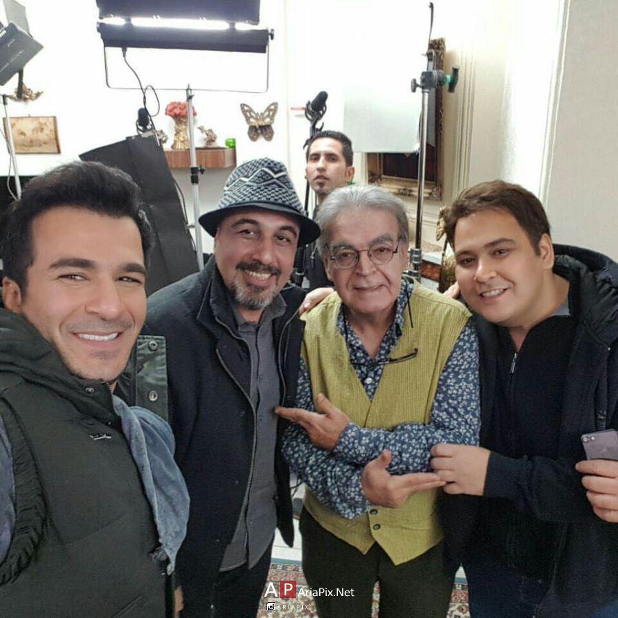 افتتاحیه سریال پنچری با حضور رضا عطاران و دیدار با رفقای قدیمی اش +عکس ها