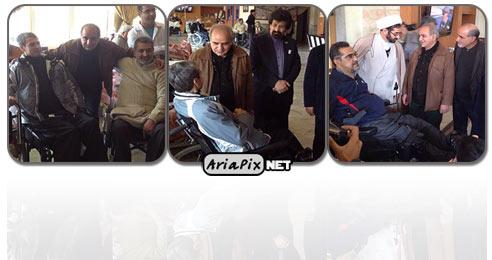 عکسهای دیدار پرویز پرستویی با جانبازان در مشهد
