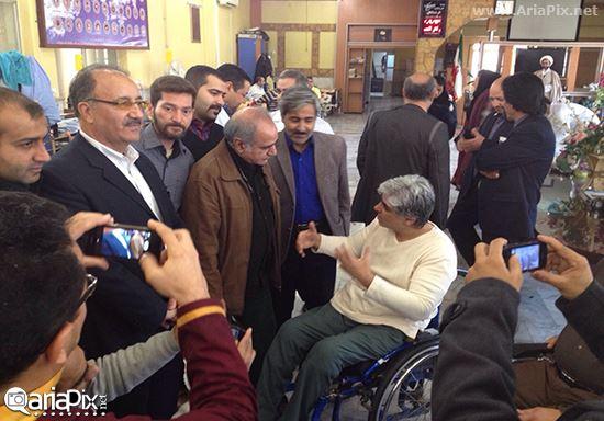 پرویز پرستویی در مشهد
