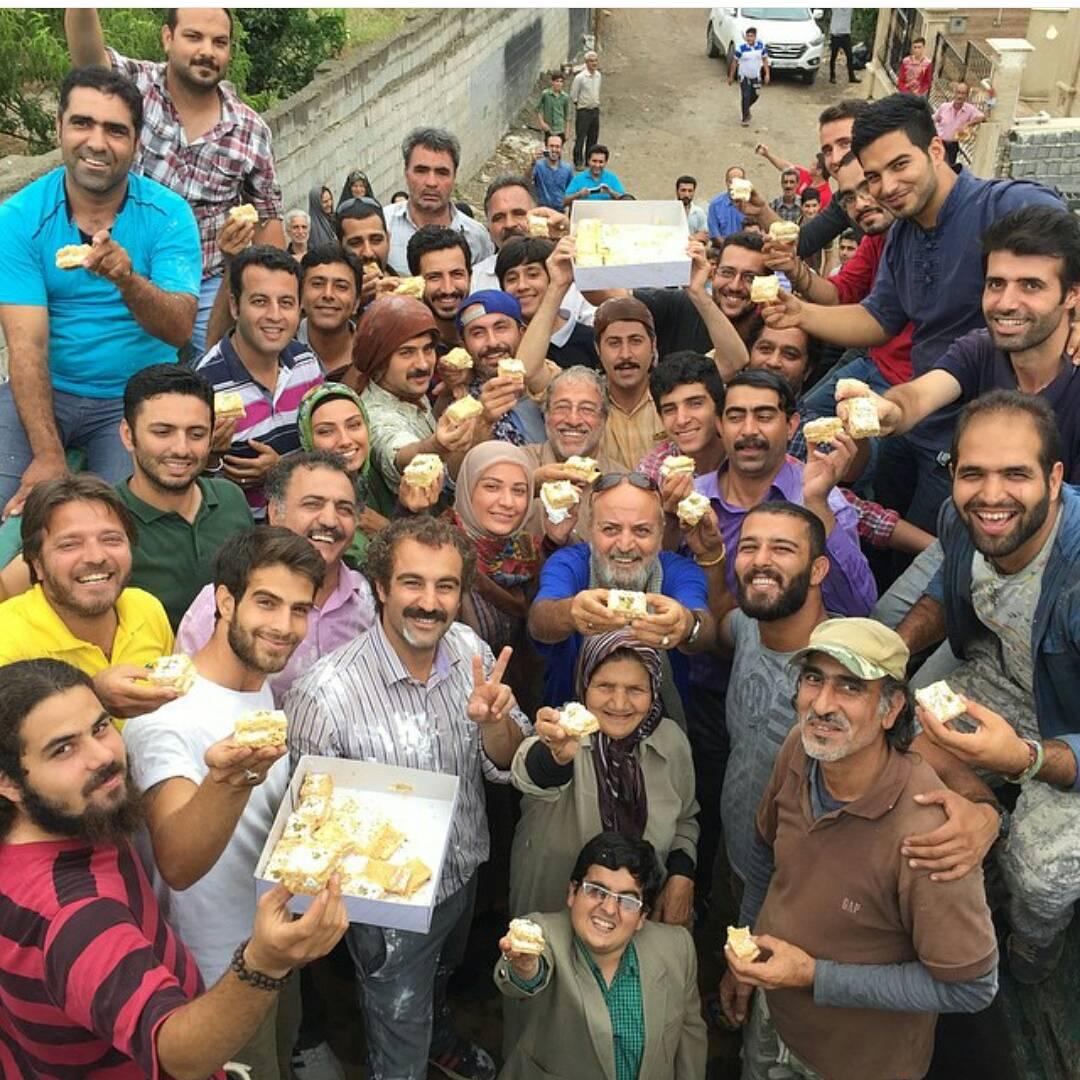 خوشحالی بازیگران پایتخت 4 به خاطر توافق هسته ای+ عکس