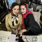 عکس سلفی مهراوه شریفی نیا و خواهرش ملیکا شریفی نیا / مهر ۹۴