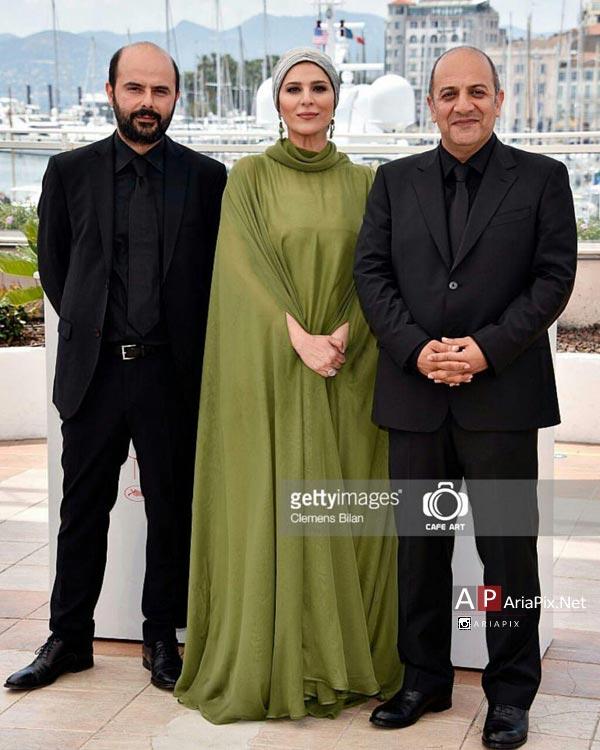 سحر دولتشاهی در جشنواره کن 2016 فرش قرمز فیلم وارونگی