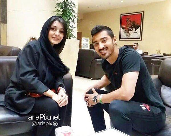 ساره بیات و رضا قوچان نژاد