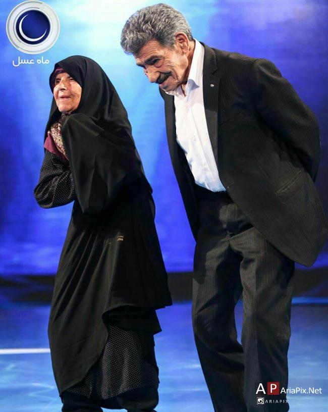 حاج حیدر 103 ساله و خاله بی بی
