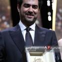 شهاب حسینی جایزه بهترین بازیگر مرد جشنواره کن ۲۰۱۶ را دریافت کرد