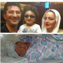 فرزند دوم شیلا خداداد به دنیا آمد +عکس