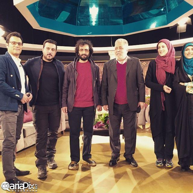 پشت صحنه خوشا شیراز 12 دی 93 / با حضور ویشکا آسایش بهروز شعیبی کیایی