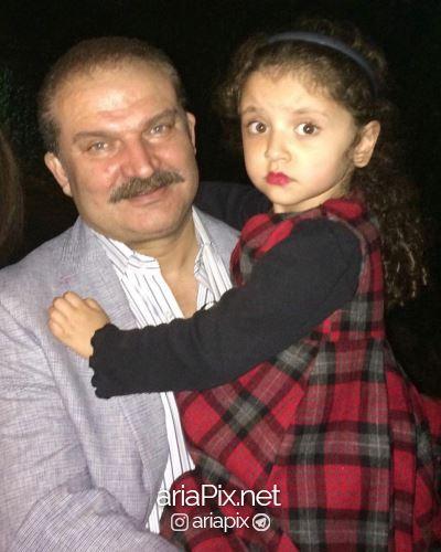 مهدی سلطانی و دخترش