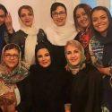 جمعی از بازیگران زن در بک استیج کنسرت شهره سلطانی (عکس)
