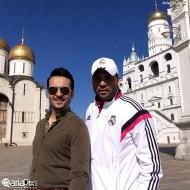 محمد سلوکی و احسان علیخانی در مسکو