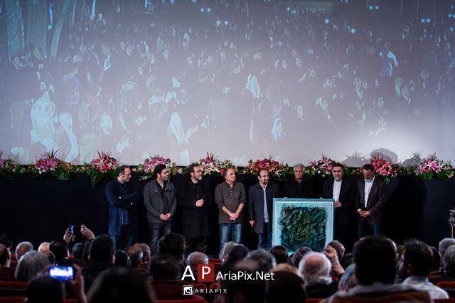 عکسهای مراسم تقدیر از اصغر فرهادی به مناسبت جایزه اسکار 2017