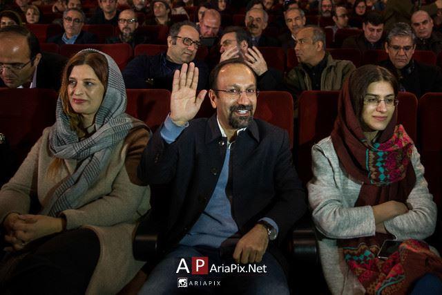 مراسم تقدیر اصغر فرهادی به مناسب اسکار 2017