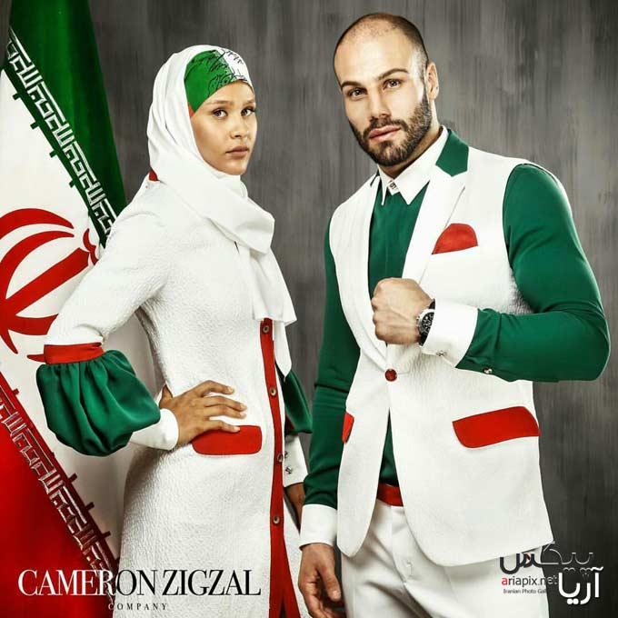 طرح لباس جدید المپیک 2016