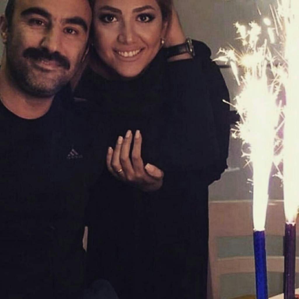 تولد محسن تنابنده در کنار همسرش