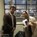 شهاب حسینی و ترانه علیدوستی در راه جشنواره کن ۲۰۱۶ + عکس