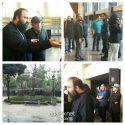 عکسهای مراسم تشییع مرحوم عارف لرستانی با حضور هنرمندان و مردم +فیلم