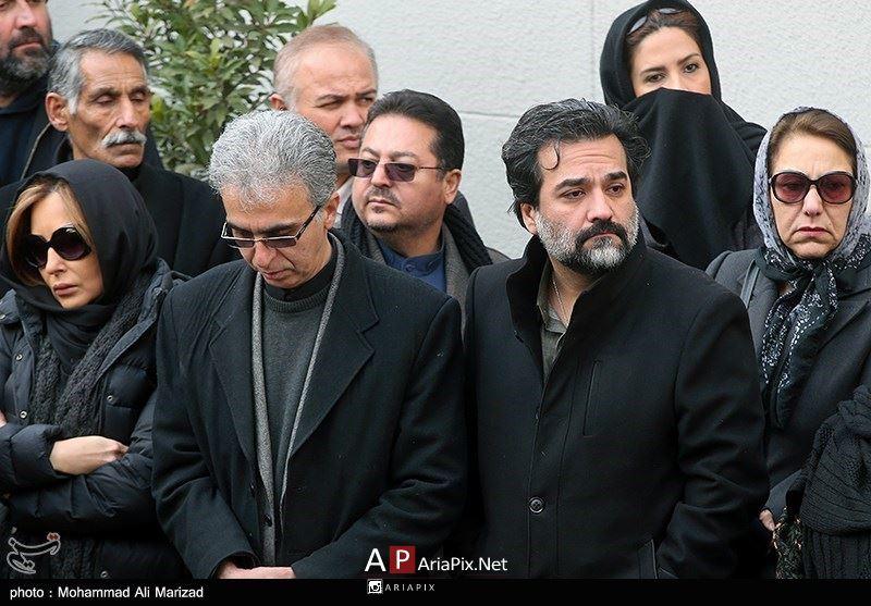 مراسم تشییع حسن جوهرچی