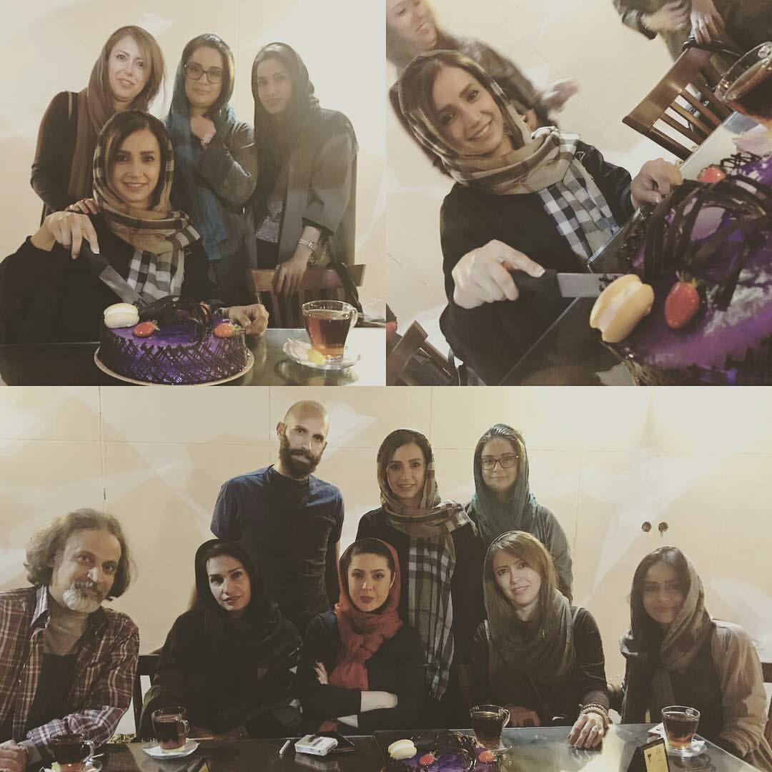 جشن تولد شبنم قلی خانی در کنار دوستانش + عکس