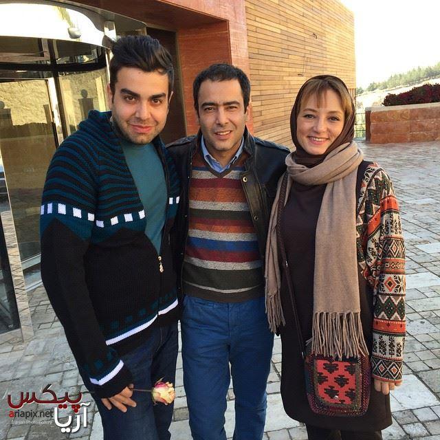 نیما فلاح و سحر ولدبیگی بازیگران سینما و تلویزیون در برنامه خوشا شیراز
