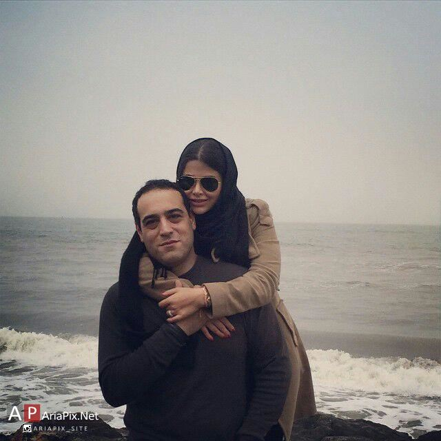 ياسمينا باهر و همسرش اميريل ارجمند