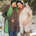 بارداری همزمان یکتا ناصر و خواهرش نیکتا +عکس