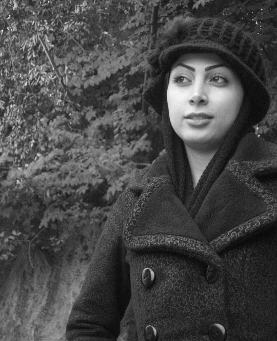 کشف حجاب ساناز زرین مهر