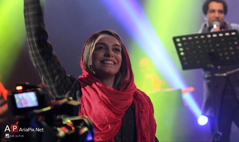 الیکا عبدالرزاقی در کنسرت امید جهان