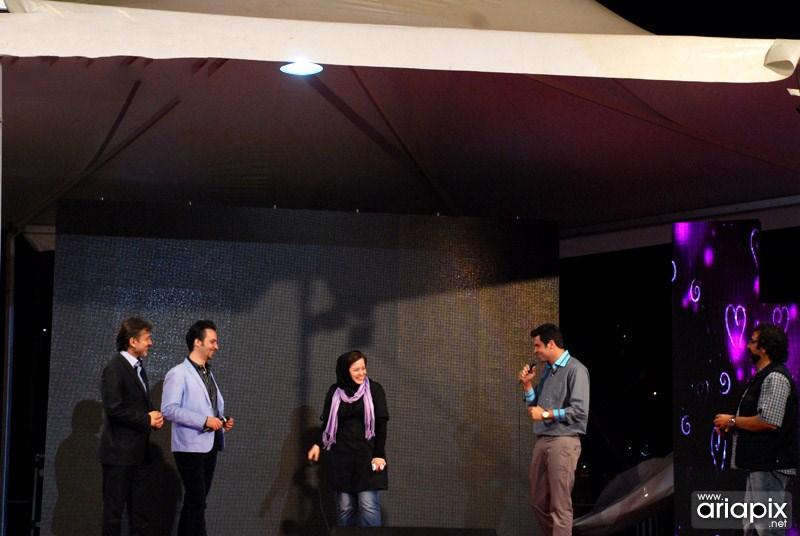 عکسهای جشن نفس با حضور بازیگران