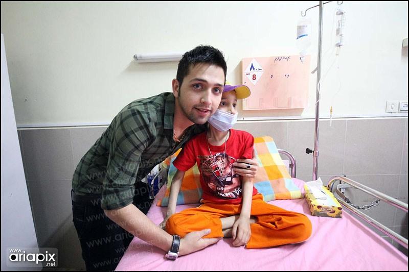 عکس کودک سرطانی