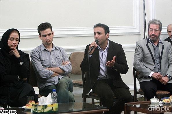 دیدار بازیگران با رییس مجمع تشخیص مصلحت نظام