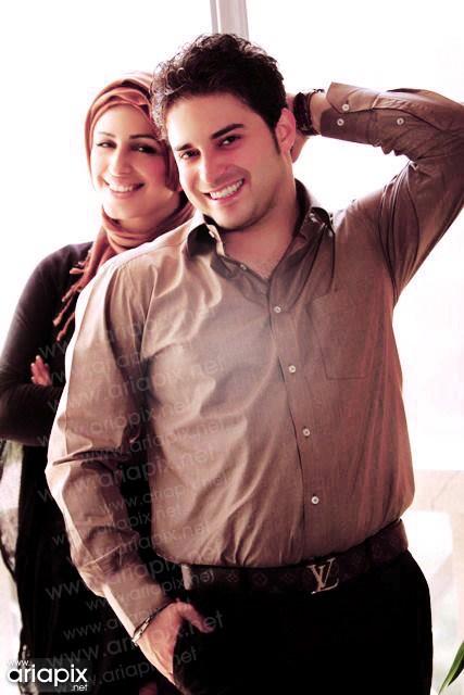 همسر بابک جهانبخش,بابک جهانبخش و همسرش