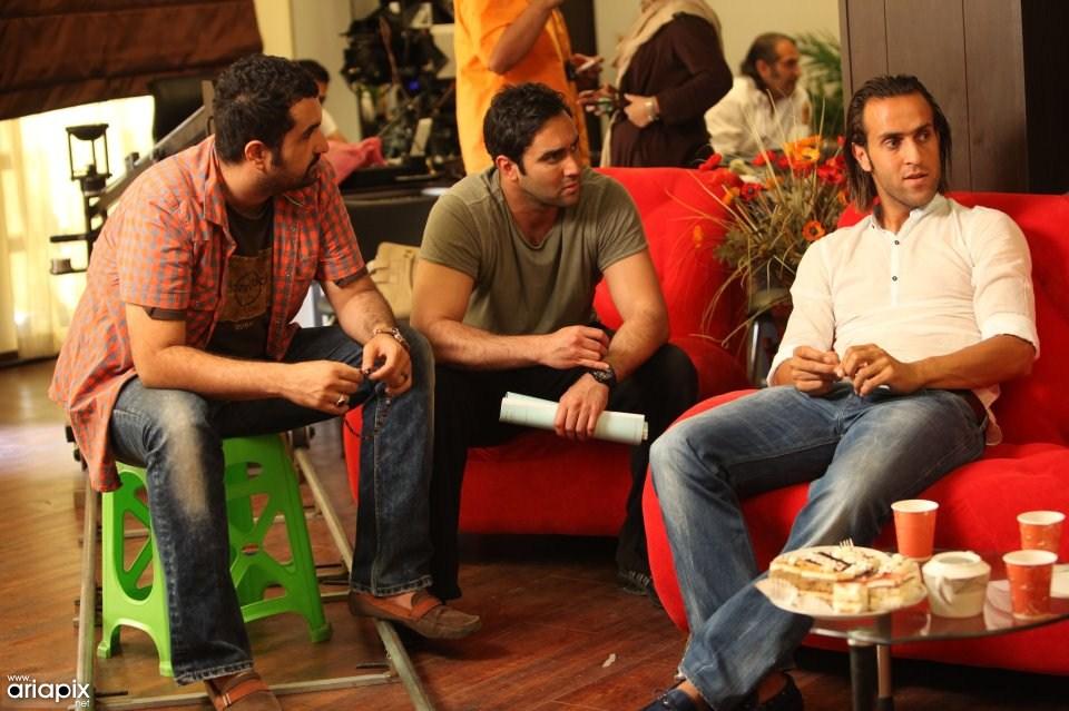 پشت صحنه اولین فیلم سه بعدی ایرانی آقای الف