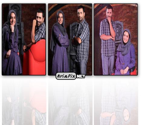 عکس های جدید از امین زندگانی و همسرش الیکا عبدالرزاقی