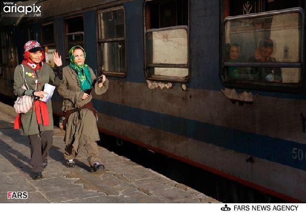 مجموعه رالی ایرانی با حضور بازیگران