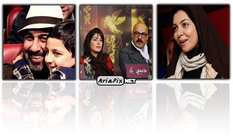 تصاویری از حواشی سی و یکمین جشنواره فیلم فجر 91