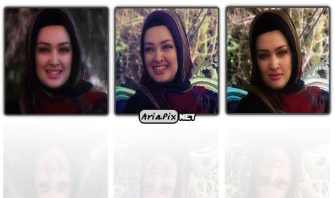 تصاویر جدید آیدا فقیه زداده در برنامه زنده روز